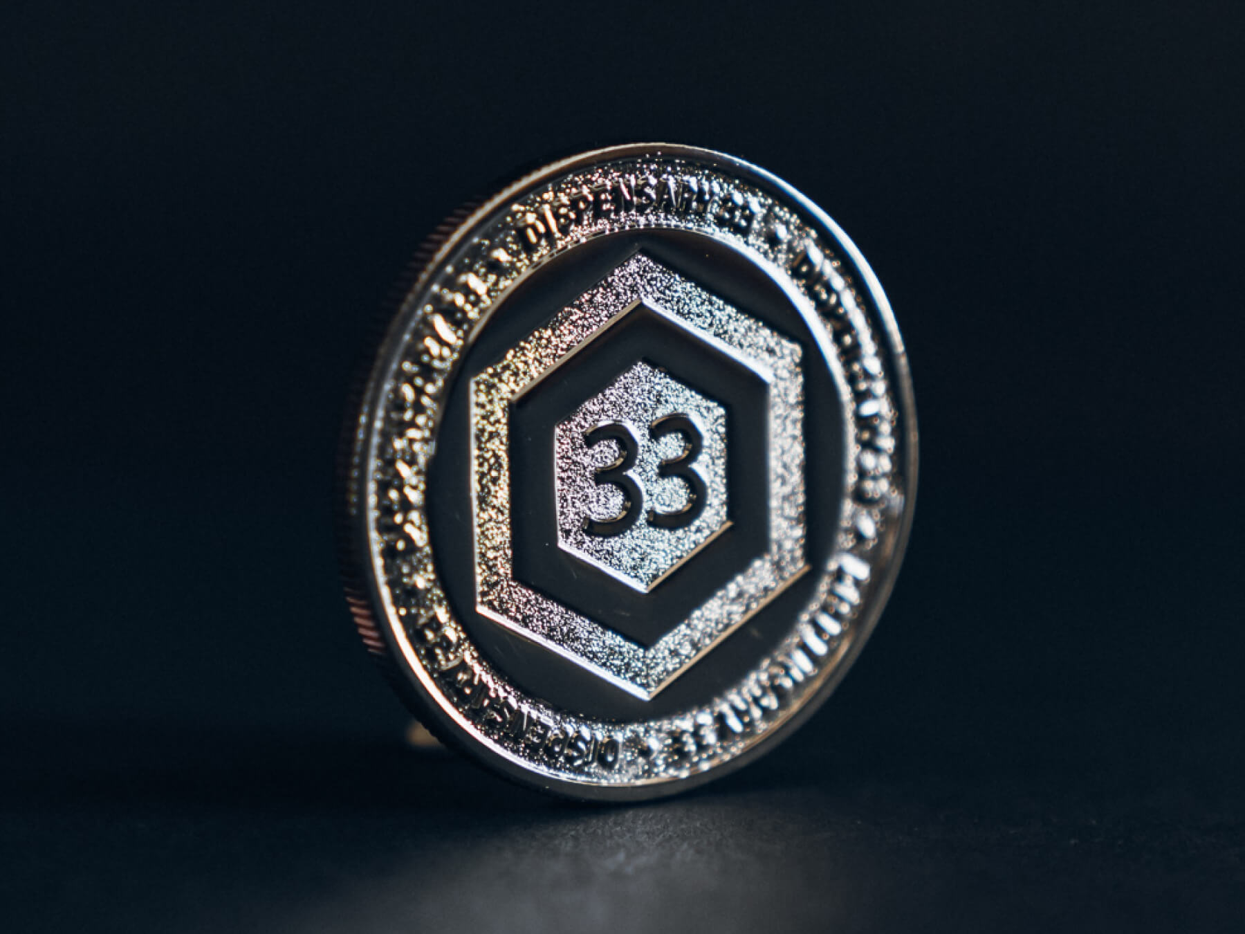 D33 Clubhouse Coin